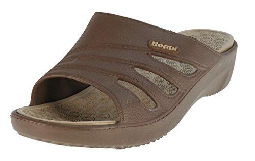 Beppi 213536 Scarpe Da Bagno Da Donna Pantofole Da Bagno Pantofole Da Bagno Marrone