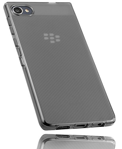 mumbi Schutzhülle für BlackBerry Motion Hülle transparent Weiss