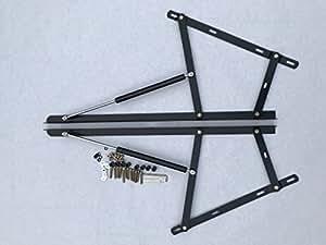 Premium Metal Lift Up Hinge Mechanism Kit Amp 2x Gas