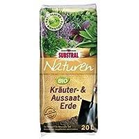 Naturen–® 1809bio Siembra de & hierbas Tierra 20litros