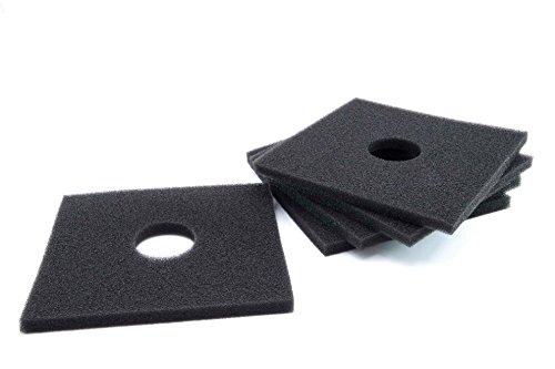 vhbw 5x Dauer-Filter für Lüfter, Ventilator Helios ELF-Serie, ELSN-Serie