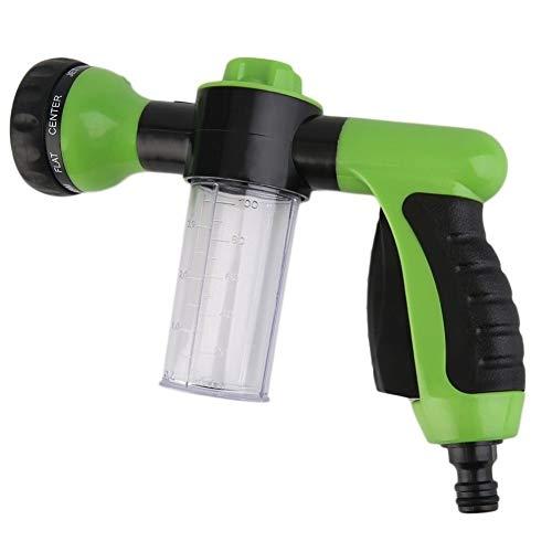 Trixes Spritzpistole zur Befestigung am Gartenschlauch mit Sprühkopf und Vorratsbehälter für Seife/Dünger Etc. - Behälter Seife Mischen