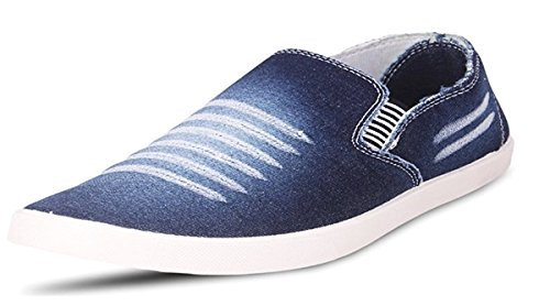 Maddy Top Quality Blue Slip On Casual Shoes For Men's In Various Sizes