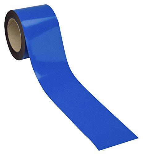 Swiftpak 7240 chiusura magnetica, facile da pulire, striscia scaffali, 30 mm x 10 m, colore: blu