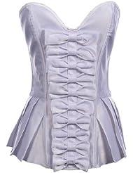 Topwedding amoureux corset avec des arcs et des plis
