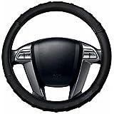 AutoSun Finger Grip Car Steering Cover Black (Ford Figo Aspire)