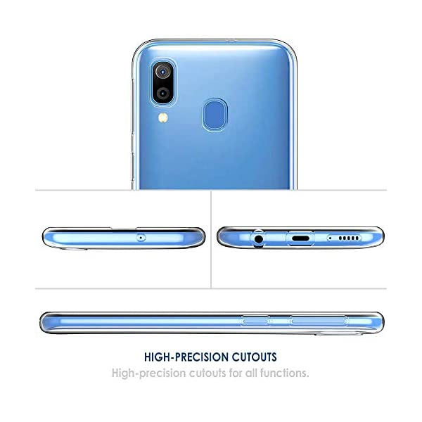 Oihxse Funda Samsung Galaxy C9 Pro, Ultra Delgado Transparente TPU Silicona Case Suave Claro Elegante Creativa Patrón… 5