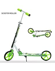 UEnjoy Scooter Roller: Klappbar Kickscooter Kinderroller 4 Farben/ Stunt Scooter Erwachsene Scooter 2 Farben