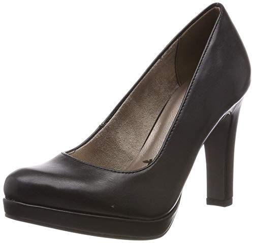 Tamaris Damen 1-1-22426-22 Pumps, Schwarz (Black MATT 20), 35 EU