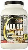 Proteine 90% 3 fonti proteiche rilascio graduale, con Vitamine Max 90 pro  gr 750 cacao