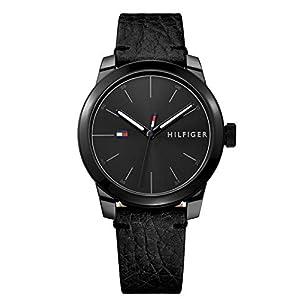 Tommy Hilfiger Reloj Análogo clásico para Hombre de Cuarzo con Correa en Cuero 1791384