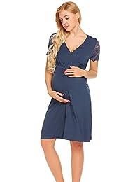 83eb9412c714 Amazon.it  camicia da notte allattamento  Abbigliamento