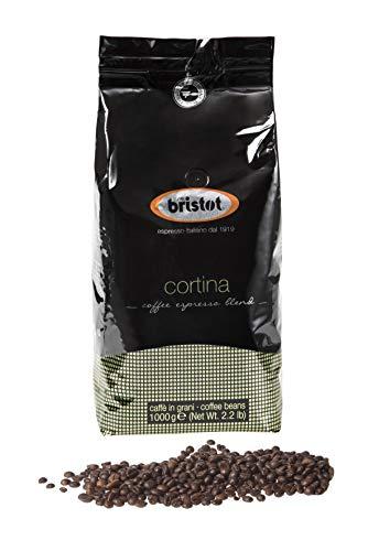 Bristot Kaffee Espresso - Cortina, 1000g Bohnen