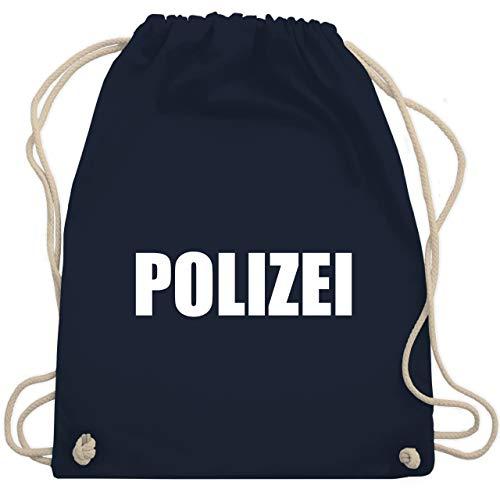 Kostüm Polizei E Fashion - Karneval & Fasching - Polizei Karneval Kostüm - Unisize - Navy Blau - WM110 - Turnbeutel & Gym Bag