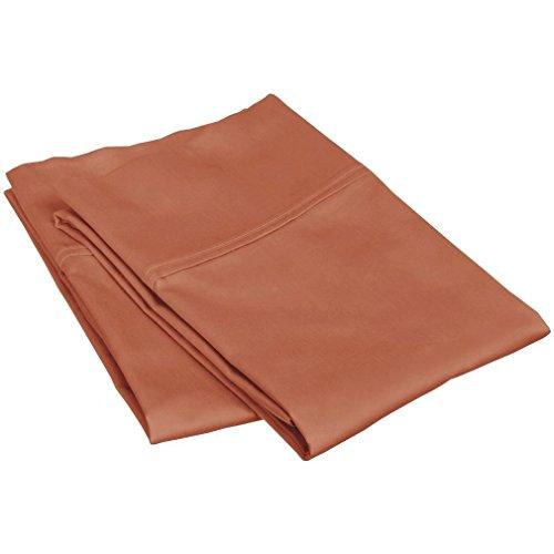 Fadendichte 300ägyptische Baumwolle Qualität Kissenbezüge Paar (2) King Kürbis durch marrikas -