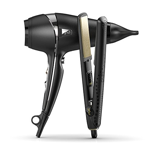 ghd V Gold Classic Styler and Air Hairdryer Bundle - 41XW2480y 2BL - ghd V Gold Classic Styler and Air Hairdryer Bundle