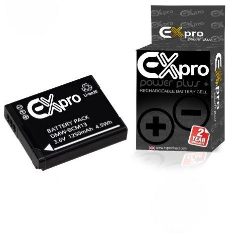 Ex-Pro DMW-BCM13 - Batería Panasonic Lumix 3.6 V
