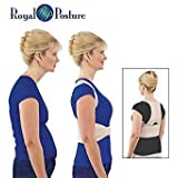 Rich N Royal Royal Posture Back Support And Multi Color (Large)