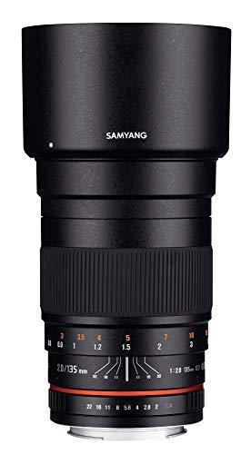 Samyang F1112203101 - Objetivo fotográfico DSLR para