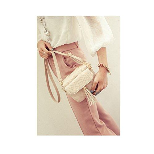 la versione coreana del pacchetto piccola piazza borsa borsa una borsa,cachi White