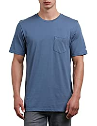 Volcom Men's Solid Pocket T-Shirt
