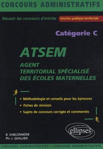 Agent territorial spécialisé des écoles maternelles (ATSEM)