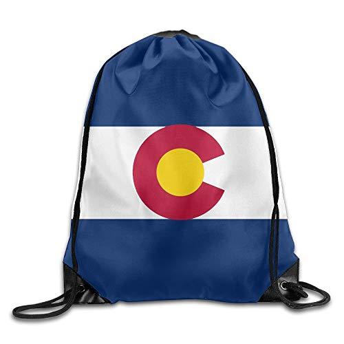 Arizona State Flag Sackpack Drawstring Bags Polyester Backpack Outdoor Sports Gym Bag Yoga Runner Daypack Team Training Gymsack Big Capacity (Twin Sides) Arizona Boys Jean