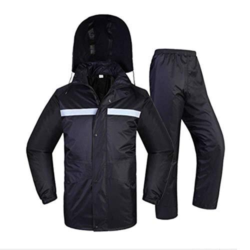 H-WXH Raincoat Factory Direct Split Raincoat Anzug Motorrad Elektro-Auto Fahren Raincoat Qualitätssicherung (Color : XXXXL)