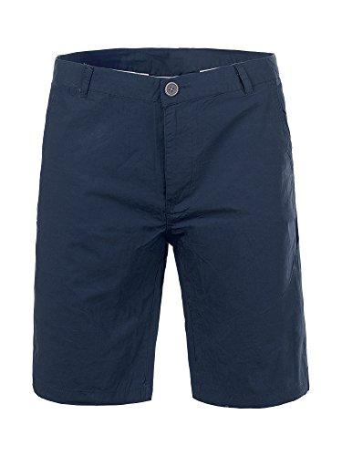 M436 BLUE JOHN Herren Bermuda Stoffhose kurze Hose Bermudas Short Hosen , Farben:Dunkelblau;Größen:W34 (Etikett 50) (Tragen Das Von Bermuda-shorts)