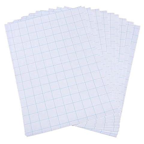 SODIAL(R) 10 feuilles de papier A4 papier de transfert de