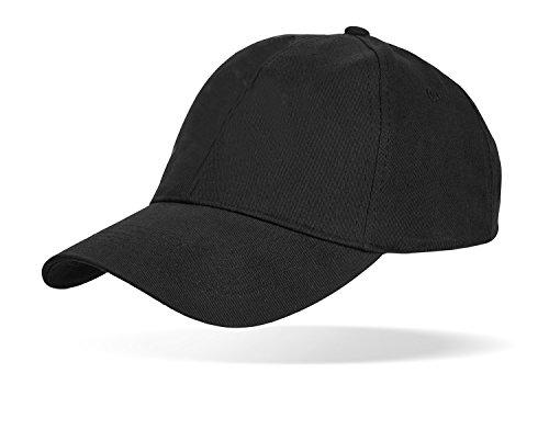 Black Snake Baseball Cap SWAT FBI Security Police Schwarz Schwarz OneSize