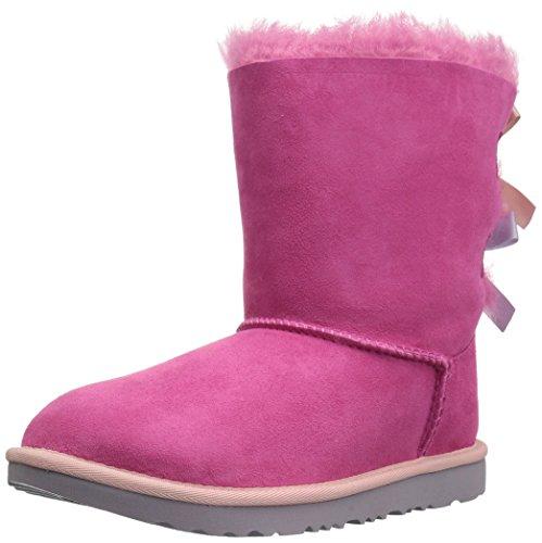 ic Bailey Bow - Kinderstifefel, Lammfellstiefel, Stiefelette 1017394, Pink-Blau (Pink-Iceblue), US k01 / EUR 31 ()