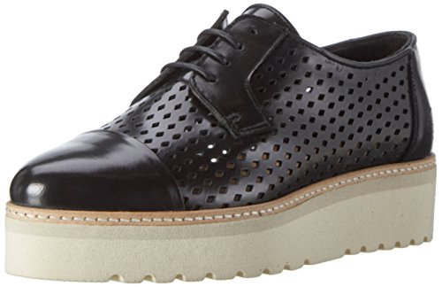 Marc O'Polo - 70114013401112 Lace Up, Scarpe basse Donna nero (nero)