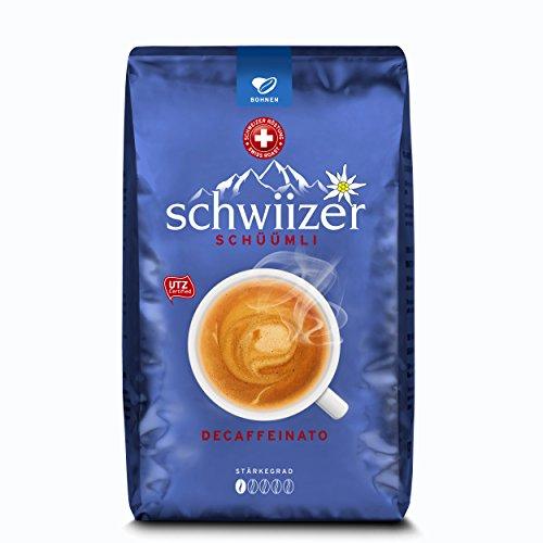 Schwiizer Decaffeinato Bohnen 500g