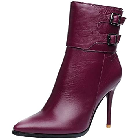 ELEHOT Donna Eleher tacco a spillo 9.5CM Leather