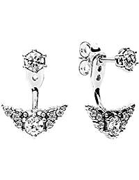 Pandora Women Silver Ear Cuff Earrings - 297214