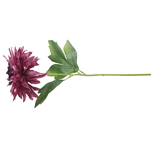 RYcoexs 1 Têtes De Mode Artificielle Pivoine Fleur De Noce Bouquet Décor À La Maison Cadeaux Purple