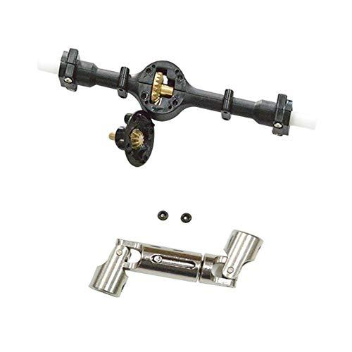starter Metallachse Antriebswelle,Für WPL 1/16 4WD Militär LKW RC Crawler Update-Kit