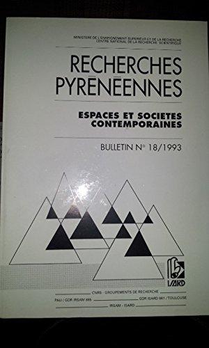 Recherches pyrénéennes par Centre régional d'information sur les Pyrénées
