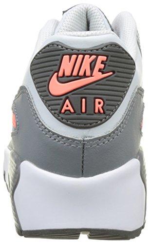 Nike Air Max 90 Ltr Gs, Scarpe da Ginnastica Bambina Bianco (Pure Platinum/Cool Grey/Lava G)