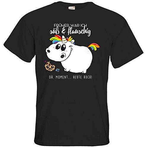 getshirts - Pummeleinhorn - T-Shirt - Baby Pummel Black