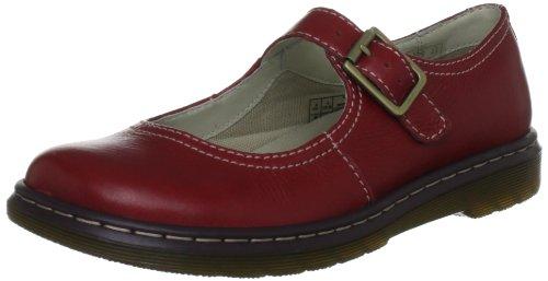 Dr Martens Elate Kara, Chaussures Basses femme Rouge (Red)