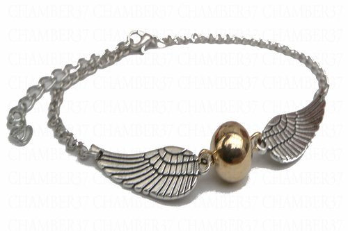 Pulsera de Harry Potter metal snitch dorada Snitch Seeker Ali tono de