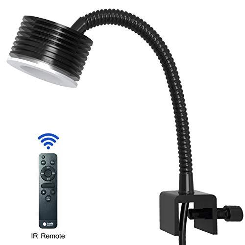 Luz LED Acuario Asta 20, Iluminacion LED para Acuarios Marino Lampara LED...