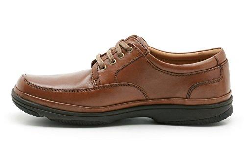 Clarks Swift Hommes Marron Mahogany Leather