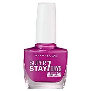 Maybelline Superstay 7 Days Super Impact Nail Color 886 24/7 Fuchsia 49g