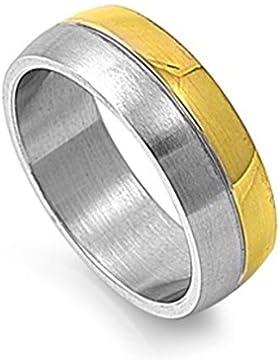 Ring aus rostfreiem Stahl