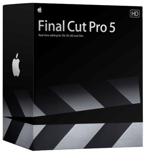 Final Cut Pro 5 Upgrade from Final Cut Express