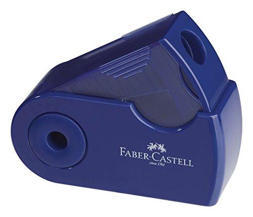 Faber-Castell 182711 Azul, Rojo – Sacapuntas (Azul, Rojo)