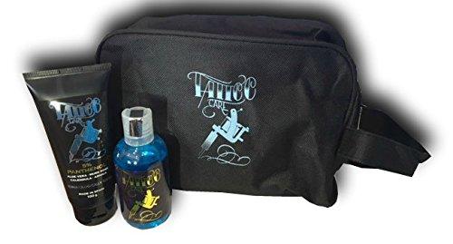TATTTO KIT XL AFTERCARE (CRÈME PANTHÉNOL TATTOO CARE 100g + SAVON TATTOO SOAP 100ml)